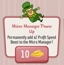 Micro Manager Power Up