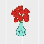Rose Badge