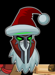 Santa Claws' Battle Helm
