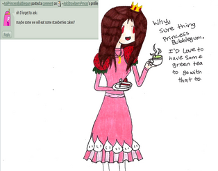 Q and a 3 strwbrry cake tea by askstrawberryprncss-d4dzf68