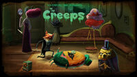 The Creeps Title Card