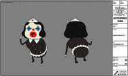 Clown Nurse 3 (modelsheet)