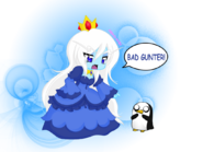 Ice queen w gunter chibi by neko hibi-d53tn2q