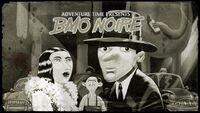 B-Mo Noire Title Card