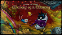 Memory of A Memory Title Card