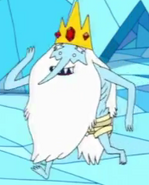 Ice King not wearing his tunic