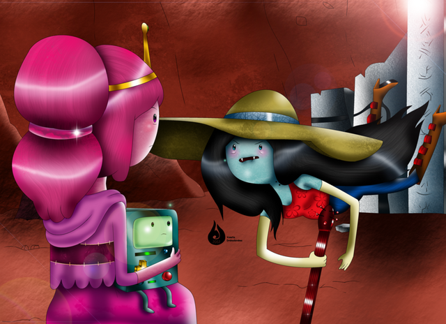 File:Marceline and princess bubblegum by venetia the hedgehog-d4roohe.png