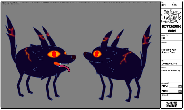 File:Modelsheet Fire Wolf Pup - Special Color 2.png