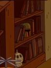 Bobba fett helmet on the shelf