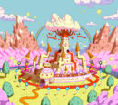 Princess Bubblegum's castle