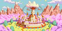 Princess Bubblegum's castle