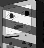 S4e17 BMO humanish face