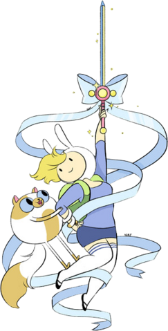 File:Fionna's New Sword.png