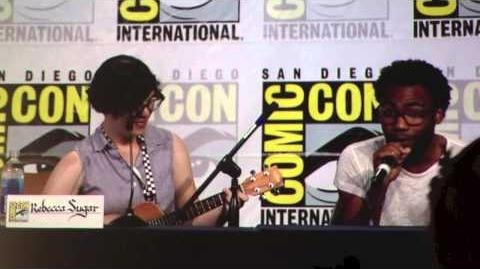 Rebecca Sugar Sings at Comic-Con 2013