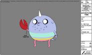 T.V crabhand