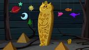 S5e20 Wall cat sarcophagus