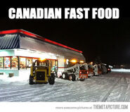 Funny-Canadian-fast-food-parking