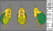 Modelsheet turtleprincess missingpartofface - daycolor