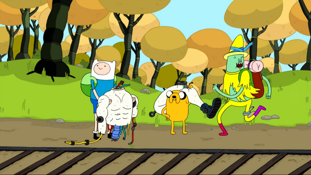 File:S4 E15 Magic Man running away in Finn and Jake's direction.png