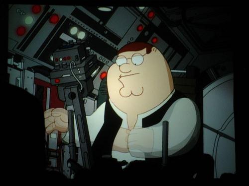 File:Star Wars Celebration IV - Star Wars Family Guy panel - Peter as Han Solo.jpg