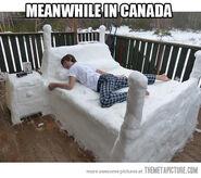 Funny-ice-bed-winter-sleeping
