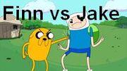 Jake vs finn