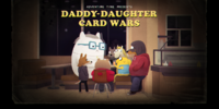 Daddy-Daughter Card Wars