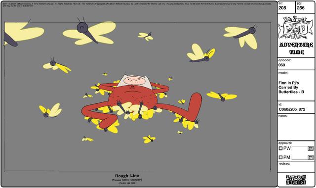 File:Modelsheet Finn in PJs Carried by Butterflies - B.png