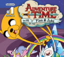 Adventure Time Comic Covers