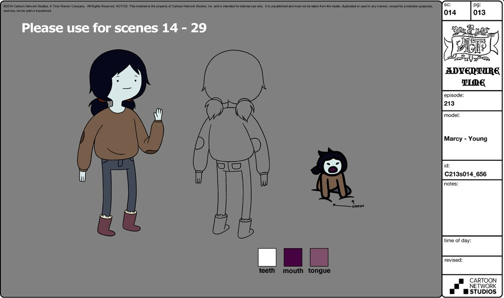 Adventure Time Character Design Sheets : Image everything stays model sheet adventure