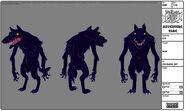 Modelsheet wolf