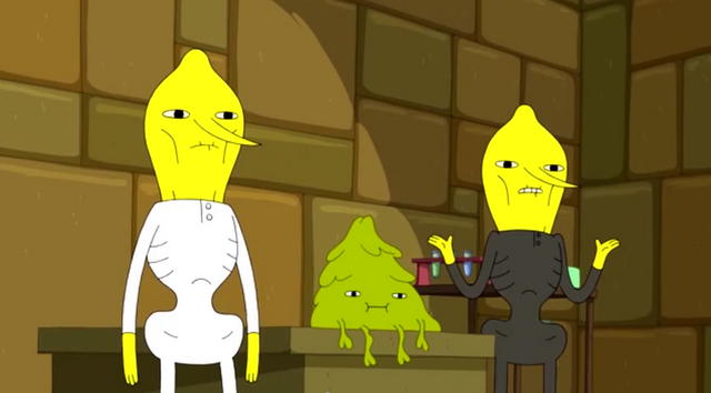 File:S5e9 the Lemongrabs standing in front of Plop-Top.png
