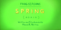 Frog Seasons: Spring (Again)