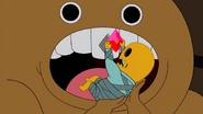 Skeleton Baby stealing ruby