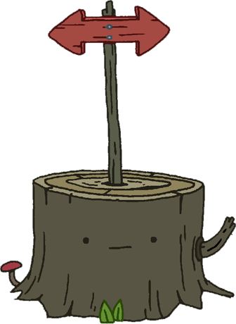 File:Tree Stump with Sign.png