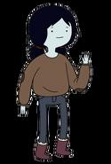 Marceline de pre-adolecente apariencia