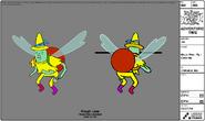 Modelsheet magicman fly closeup