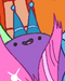 Purple candy ball wth 2 hats