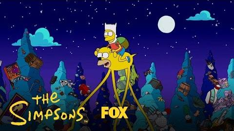 Simpsons Time Couch Gag - Season 28 Ep