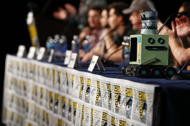 File:Adventure Time Panel at SDCC14 18.JPG