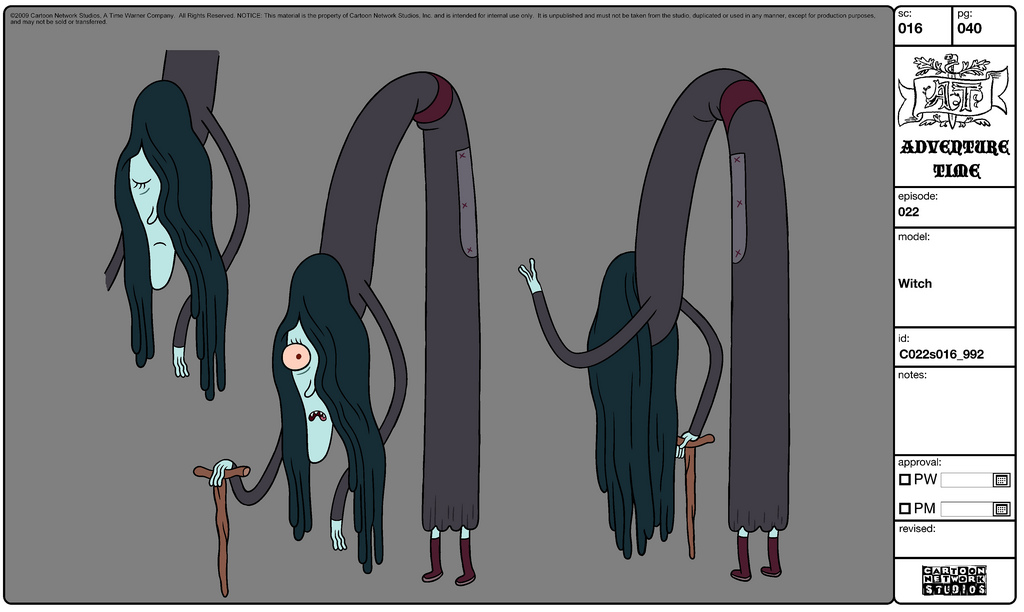 Adventure Time Character Design Sheets : Image modelsheet witch g adventure time wiki