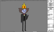 Modelsheet Young Ice King - Transformation Pose A