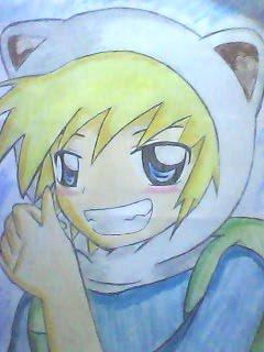 File:Finn In Anime Form.jpg