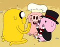 S2e13 jake playing pattycake with baby pigs.png