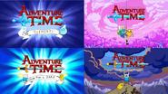 Adventure Time intro comparison