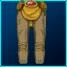 Gold Marauder Pants FF