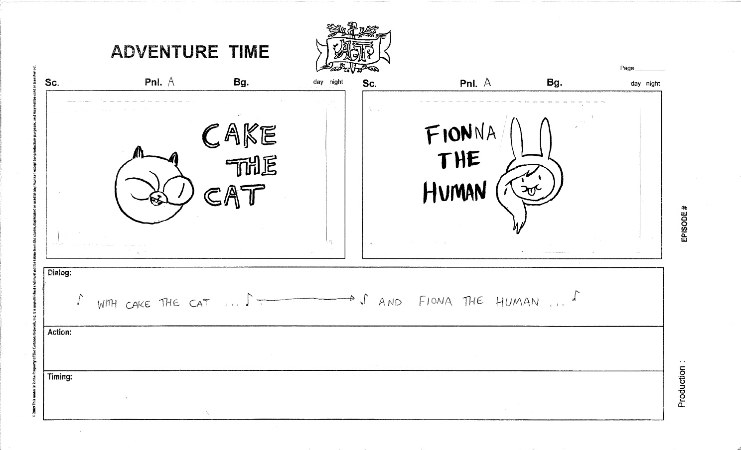 image part 1 of fionna and cake jpg adventure time wiki