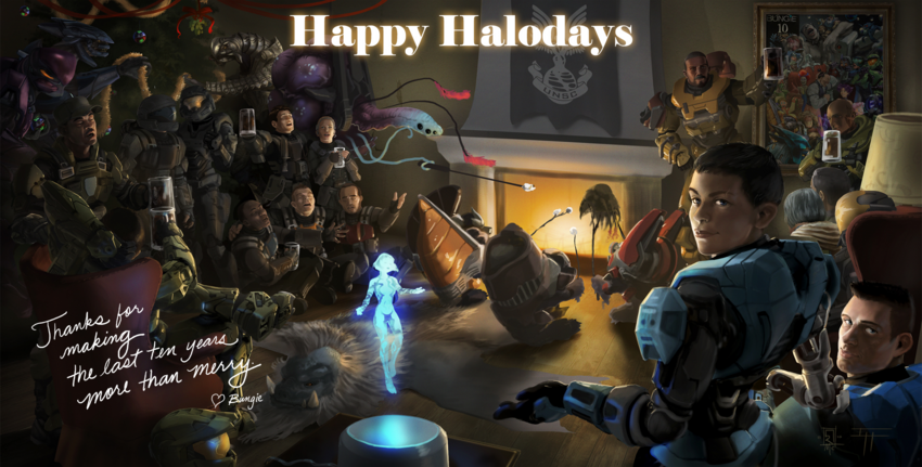 Happy halodays poster