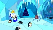 S6e20 Ice King and penguins