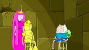 S5e51 Finn and PB with new Lemongrab